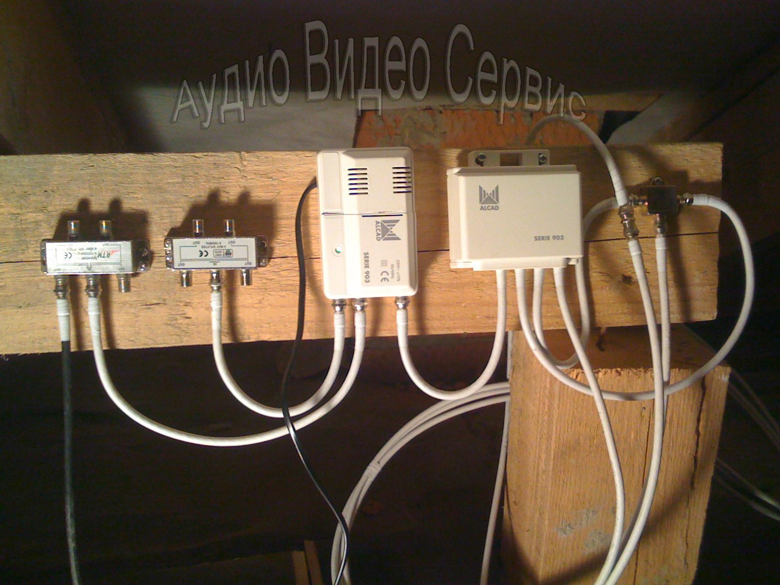 Усилить сигнал антенны телевизора